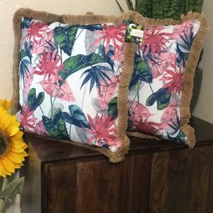 Other - New Tropical Outdoor Decorative Pillows